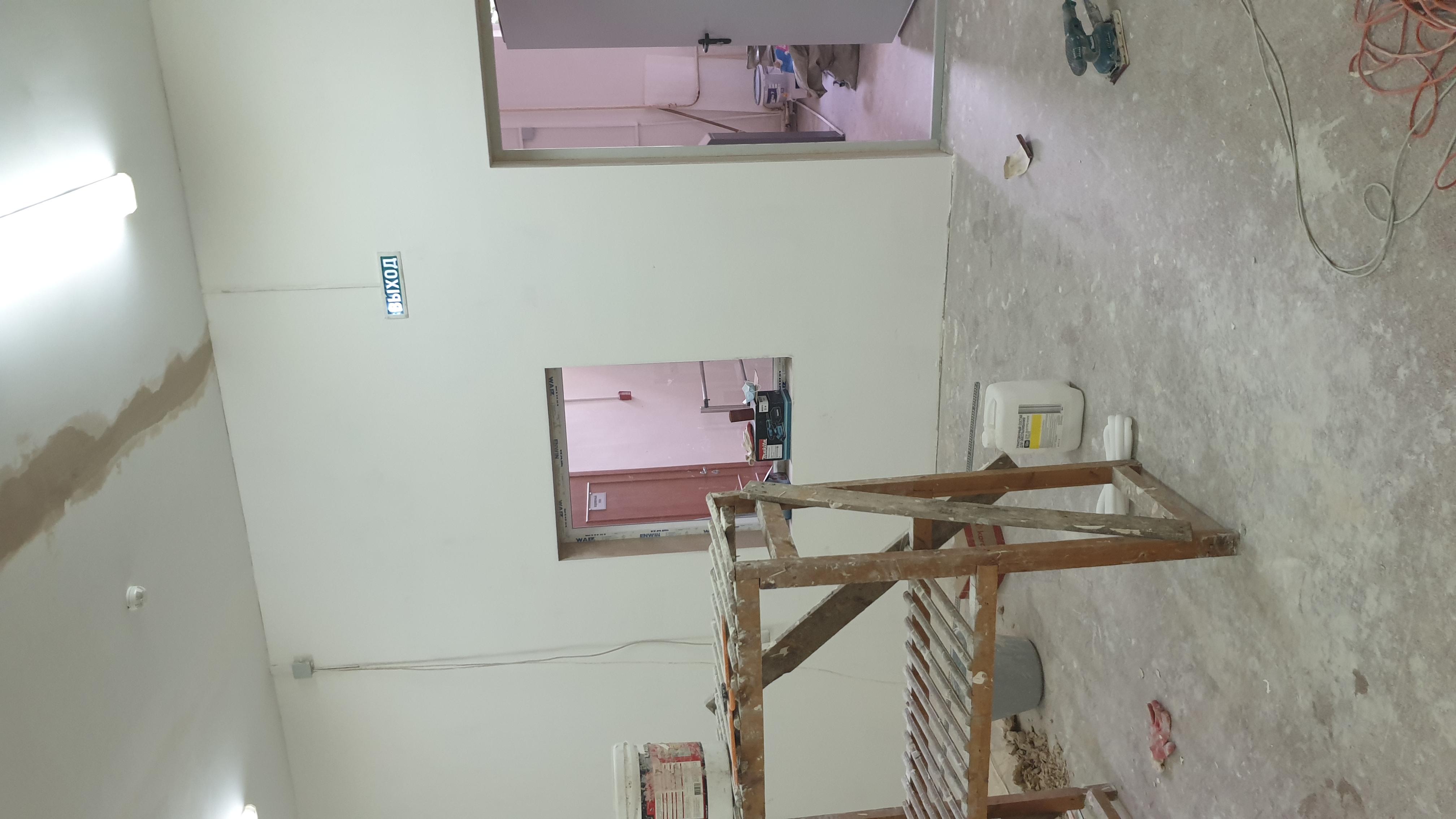 Подходит к завершению ремонт на Театральной аллее